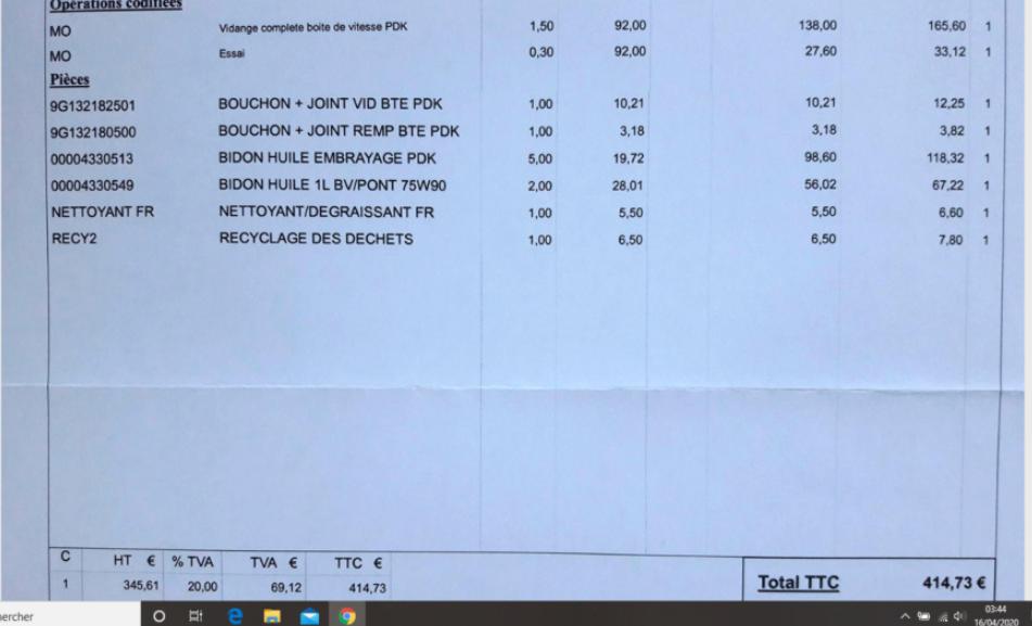 vidange boite pdk Porsche - Page 2 Captur94