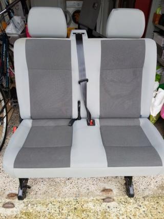 Vend siege passager arrière double T5 20200114