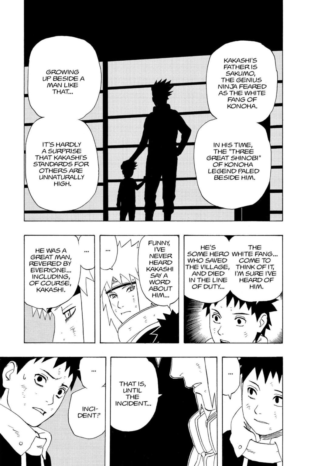 Como o Sakumo Hatake é mais forte que os 3 sannins? Naruto13