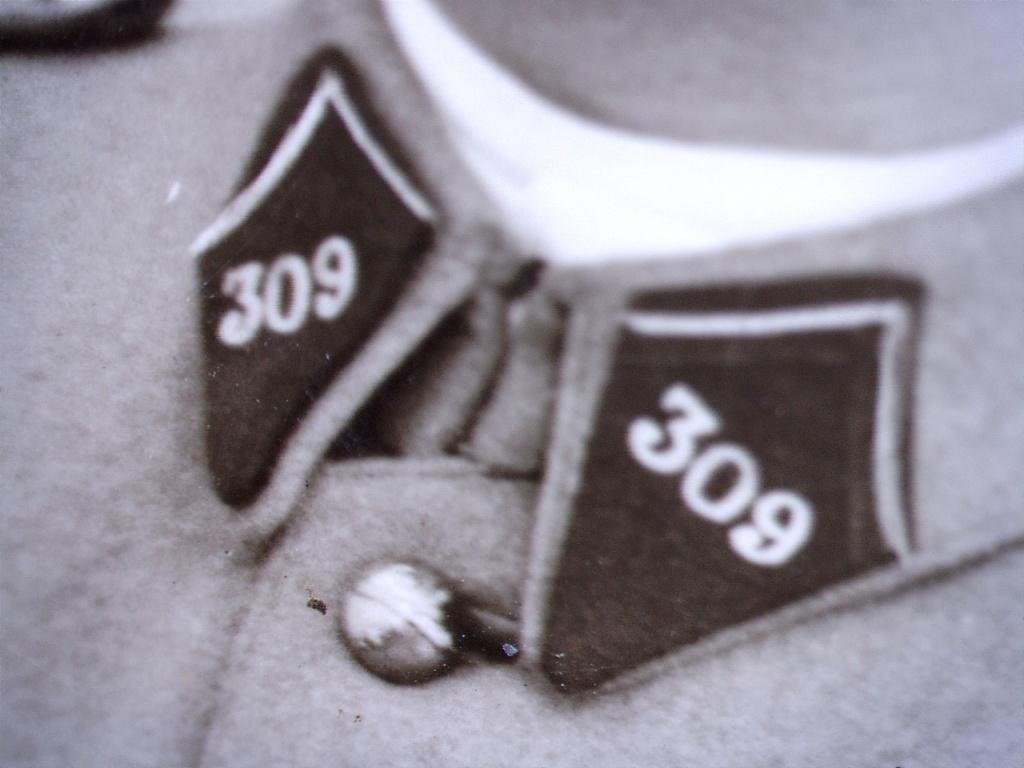 À identifier soldat fourragère avec insigne numéro 309 20428115