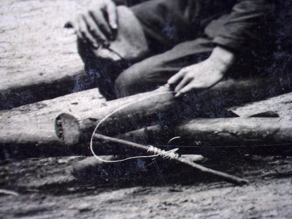 À identifier Construction radeau ? régiment numéro 2 20471015
