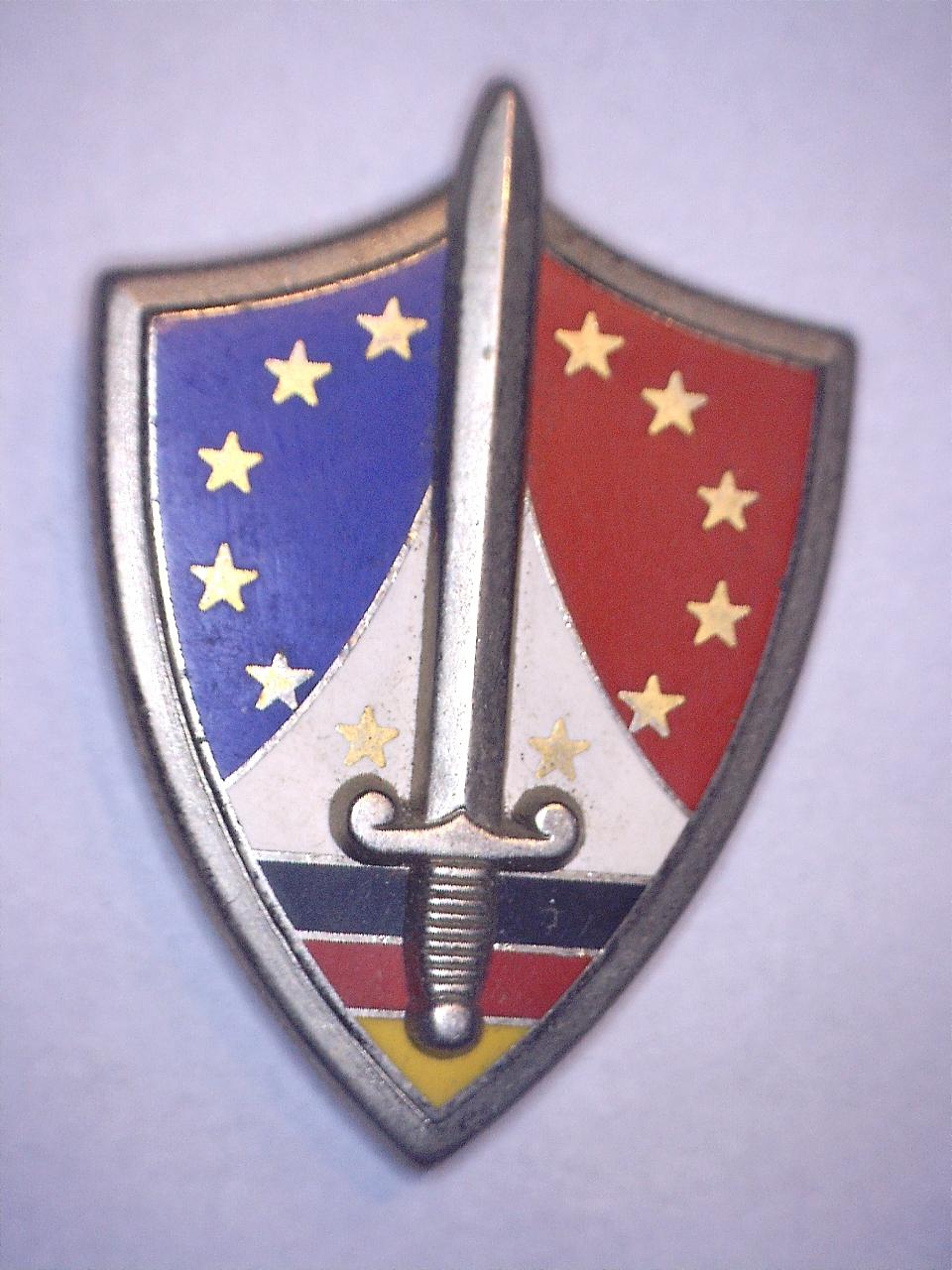 A identifier INSIGNE Epée couleurs française et allemande 20922110