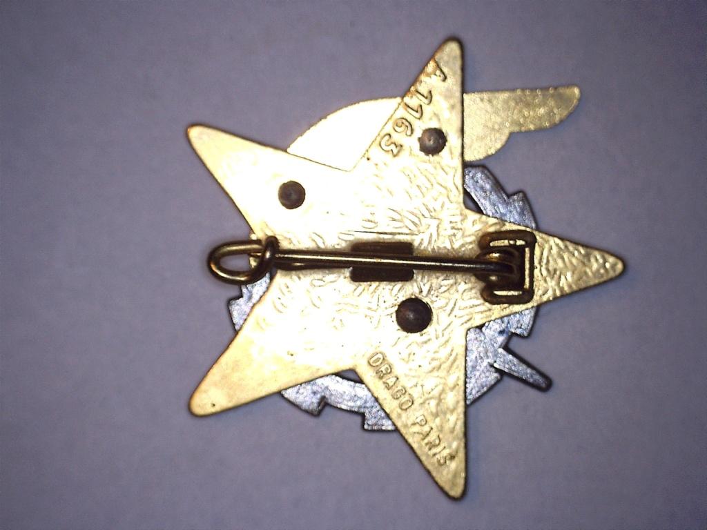 A identifier INSIGNE étoile éclair aile 20932115