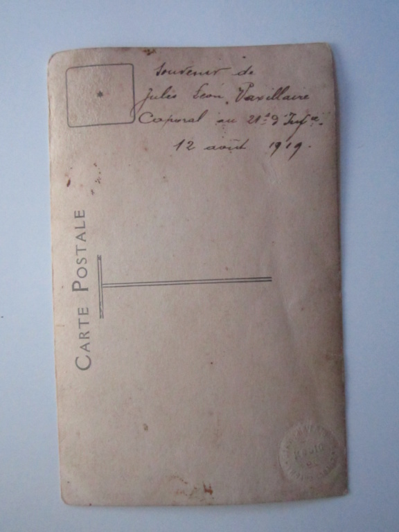 A identifier lieu régiment 21e 9eme Infanterie date 1919 Img_0929