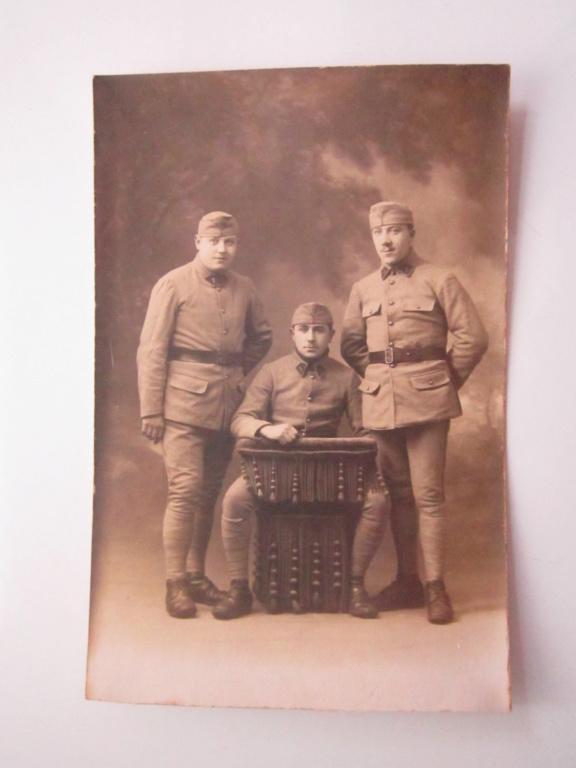 A identifier 3 soldats numéro 7 sur calot et col Img_0940