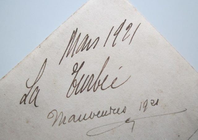 A identifier le régiment numéro 25, mars 1921 LA TURBIE, manœuvre Img_1013