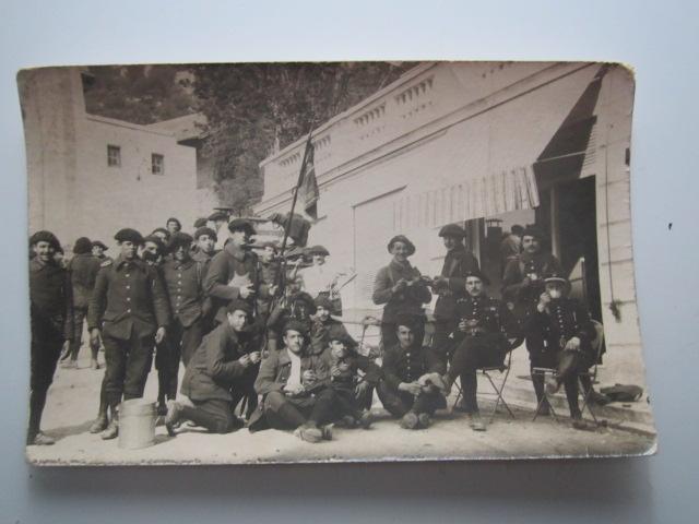 A identifier le régiment numéro 25, mars 1921 LA TURBIE, manœuvre Img_1014