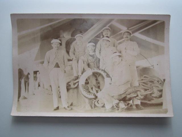 A identifier Marins avec Bachi Classe 1909 bateau de guerre, canons Img_1033