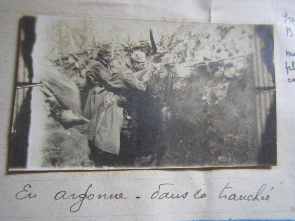 A identifier chasseurs de France, St Venant, dans la tranchée premières lignes Img_1217