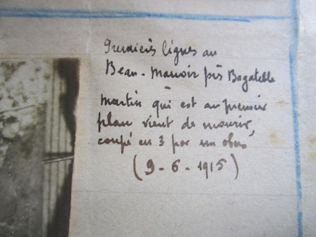 A identifier chasseurs de France, St Venant, dans la tranchée premières lignes Img_1220