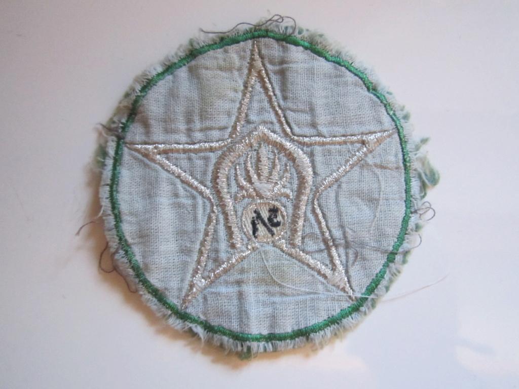 À identifier tissu Militaire (étoile) Img_1274