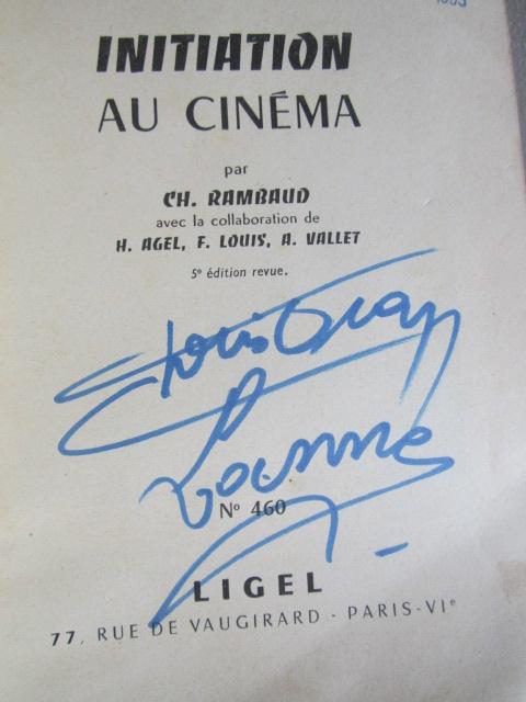 """À identifier autographe  sur livre """"initiation au cinéma"""" Img_2610"""