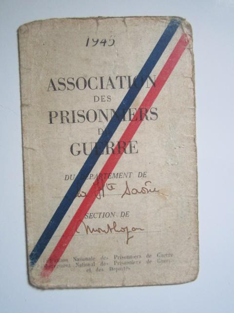 À identifier timbre association prisonniers de guerre département Haute-Saône Img_3334
