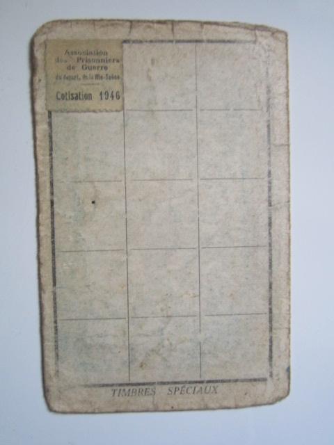 À identifier timbre association prisonniers de guerre département Haute-Saône Img_3336