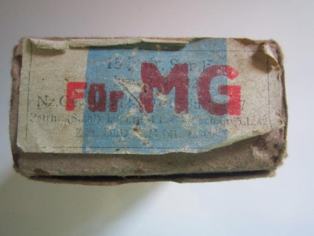 "Boite vide en carton marqué ""Für MG"" Img_5722"