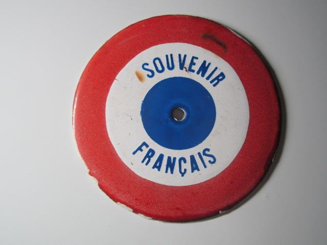 A IDENTIFIER plaque SOUVENIR FRANCAIS Img_6312