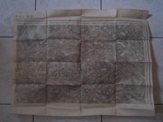 À identifier CARTE ETAT MAJOR ? révisée en 1913 - 84 Mirecourt Img_9210
