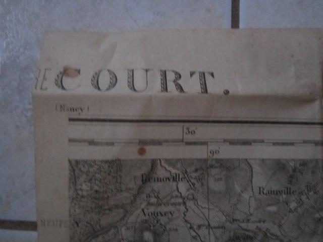 À identifier CARTE ETAT MAJOR ? révisée en 1913 - 84 Mirecourt Img_9212