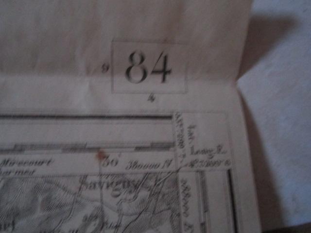 À identifier CARTE ETAT MAJOR ? révisée en 1913 - 84 Mirecourt Img_9213