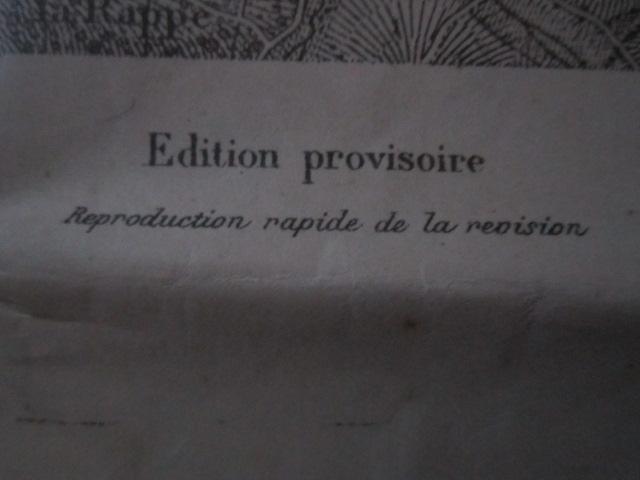 À identifier CARTE ETAT MAJOR ? révisée en 1913 - 84 Mirecourt Img_9214