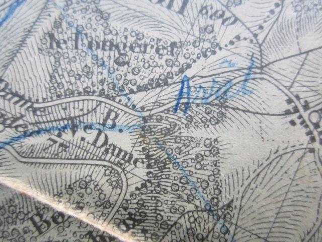 À identifier BATAILLE sur carte état major 114 D.I et 112 D.I et 4 P.R Img_9223