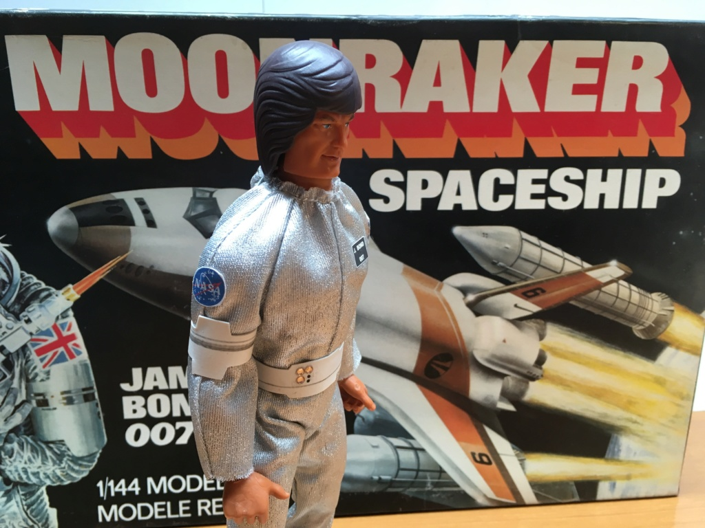 BIG JIM AGENTE 007 James Bond Operazione spazio - Moonraker Img_4167