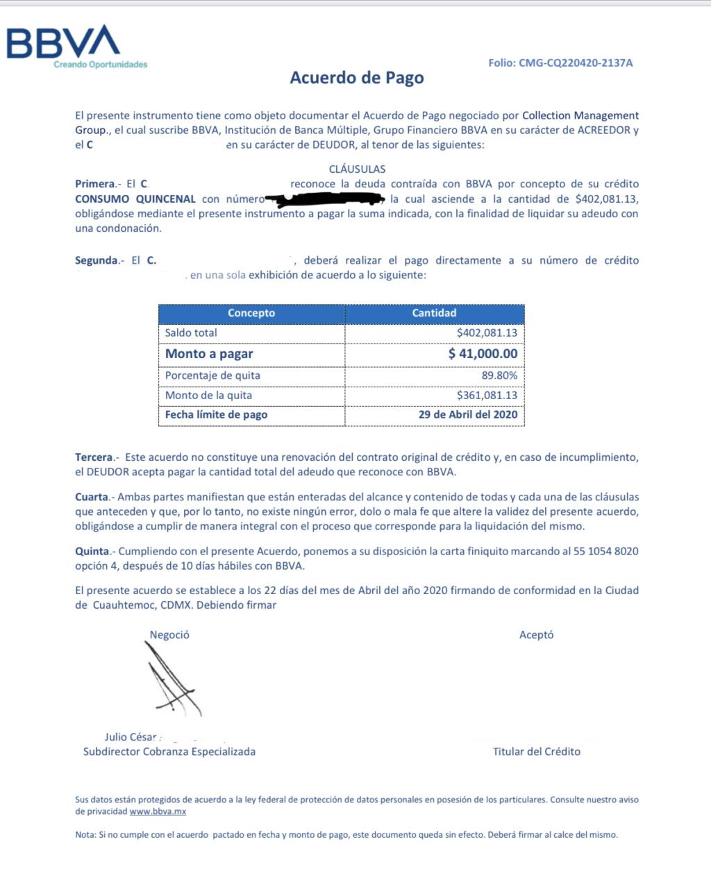 Carta convenio C5e17410
