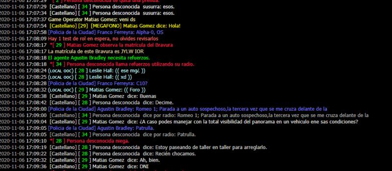 [Reporte] Admin Abuse y MG de Matias Gomez - DM Y NRE de Franco Ferreyra Lelsie11