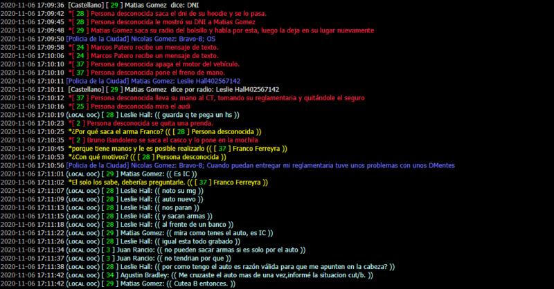 [Reporte] Admin Abuse y MG de Matias Gomez - DM Y NRE de Franco Ferreyra Leslie16