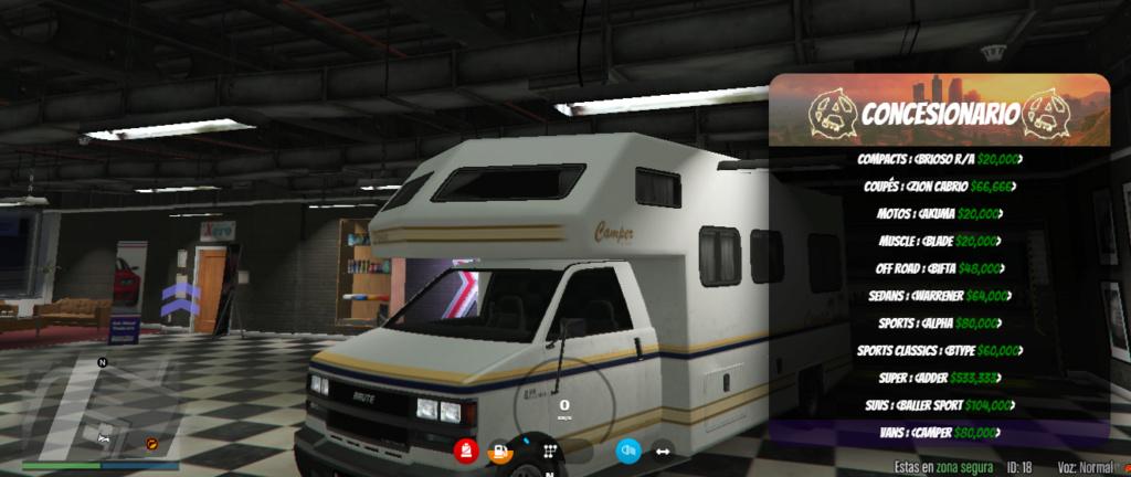 Gama de vehículos del concesionario Camper10