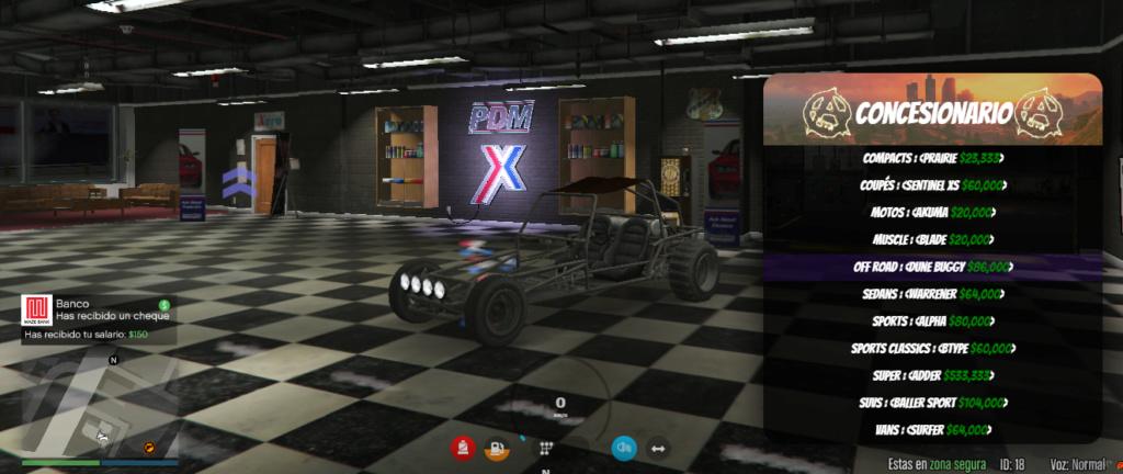 Gama de vehículos del concesionario Dune_b10