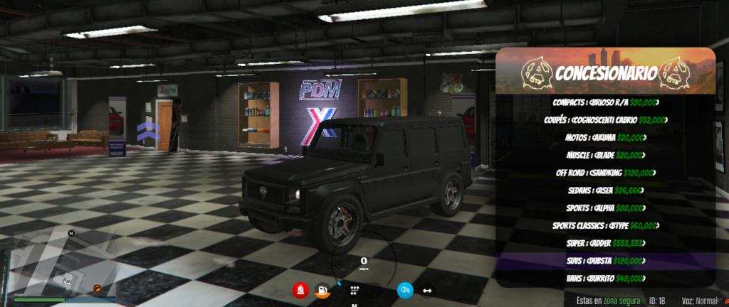 Gama de vehículos del concesionario Dupsta10