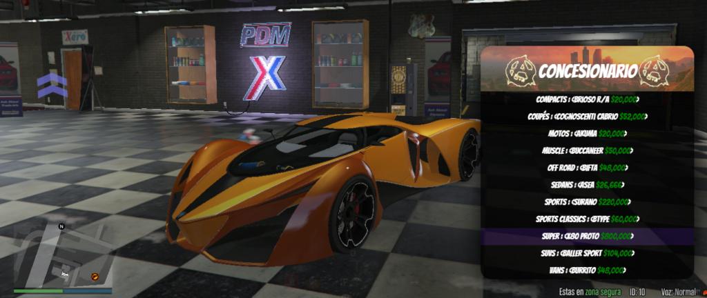 Gama de vehículos del concesionario X80_pr10