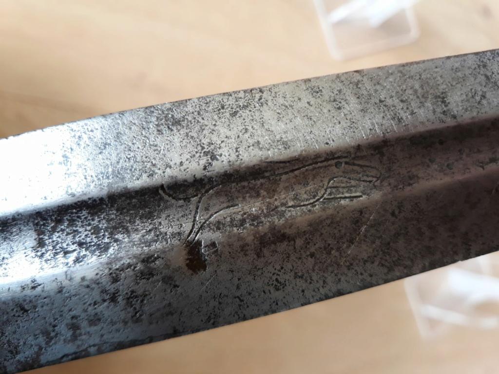 Forte épée Wallonne de cavalerie 435