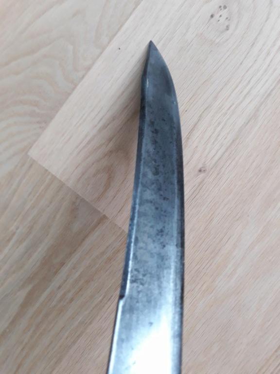Aide identification précise sabre briquet vieille garde impériale A810