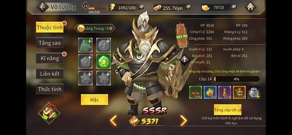 Hack Tam Quốc Vô Song 3D 10698710