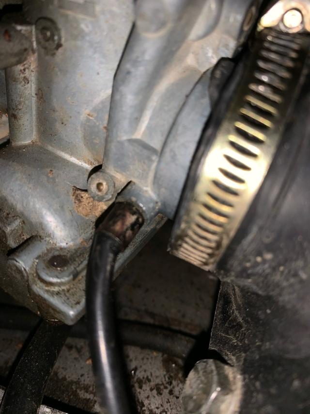 Le moteur cale Dfd92710