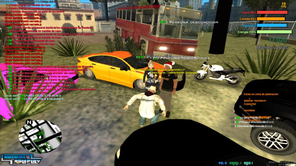 Reporte: DANIEL REBOLLEDO - NRC - Car Kill - Troll - Mal uso de job. Mta-sc35