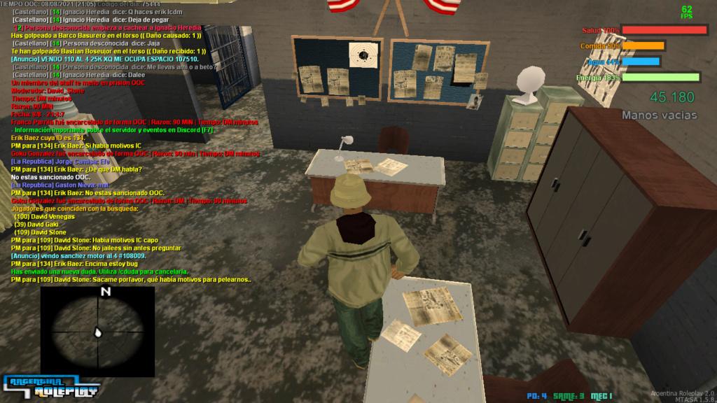 Reporte : David Stone - Jail Mal Dado. Mta-sc39