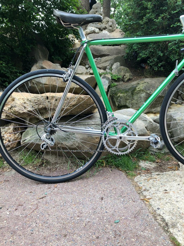 Bernard Carré chrome et vert 45835910