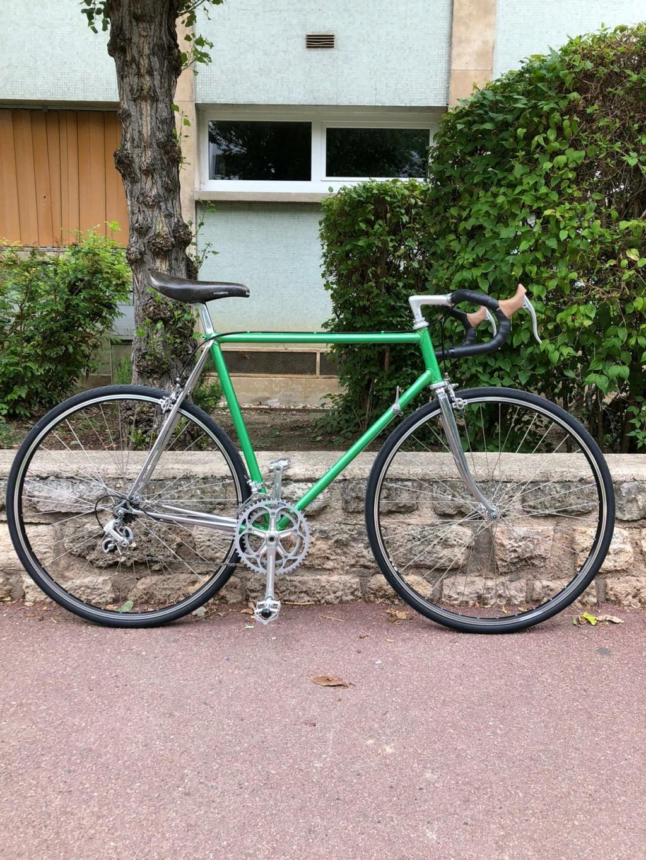 Bernard Carré chrome et vert 858a3b10