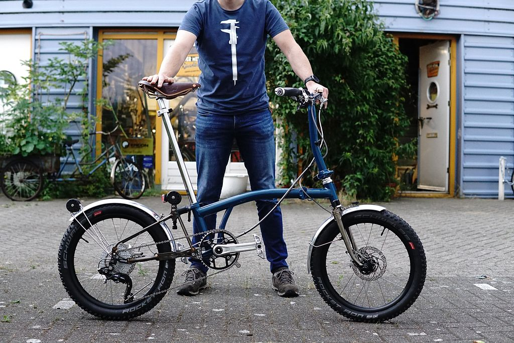 Brompton Gravel/Bike packing Xplore10