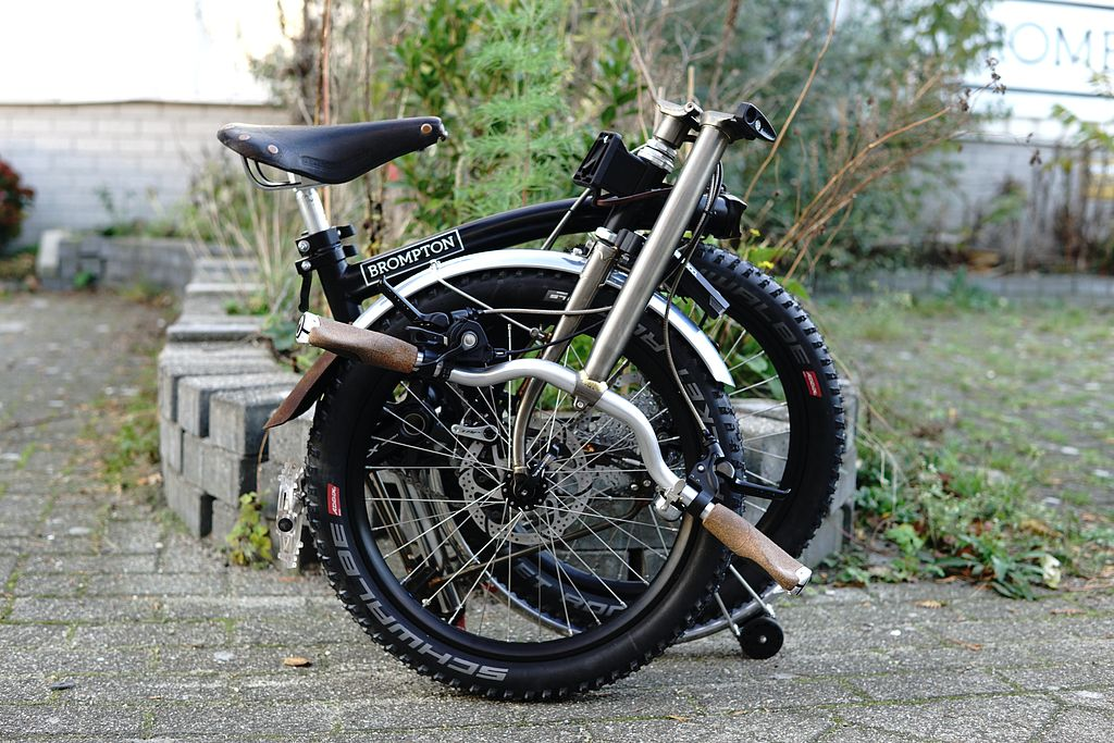 Brompton Gravel/Bike packing Xplore11