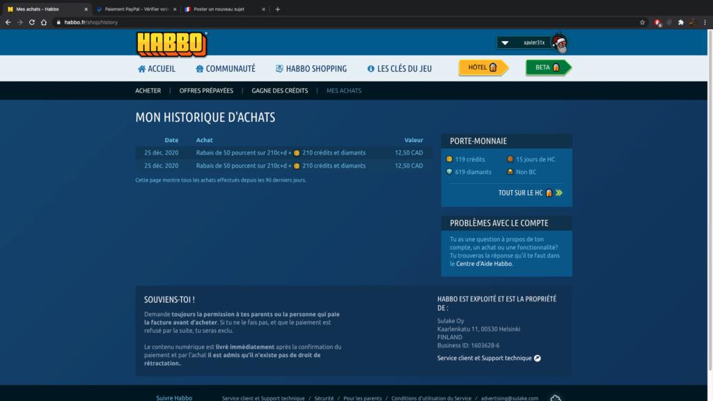 Comment acheter des credits Habbo - cher de manières autorisée ?  Captur13