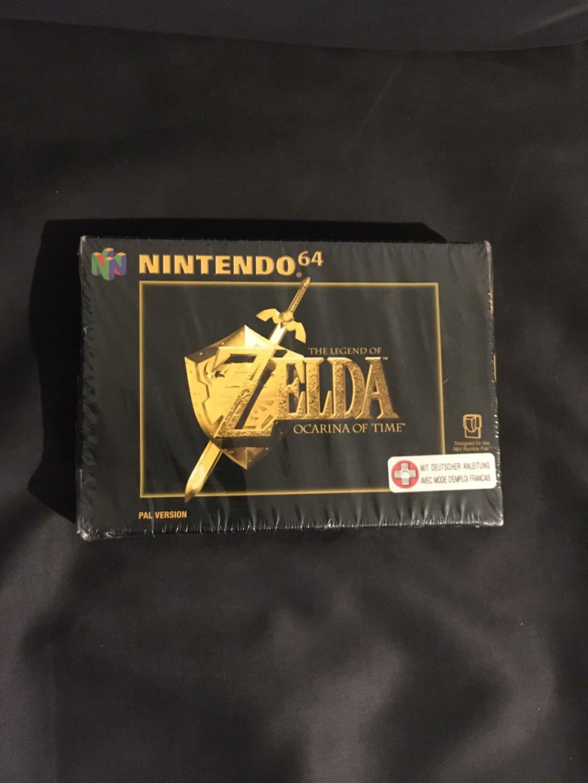 ( EST ) N64 Zelda Ocarina of time neuf sous blister Whatsa12