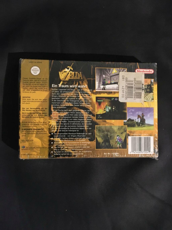 ( EST ) N64 Zelda Ocarina of time neuf sous blister Whatsa13