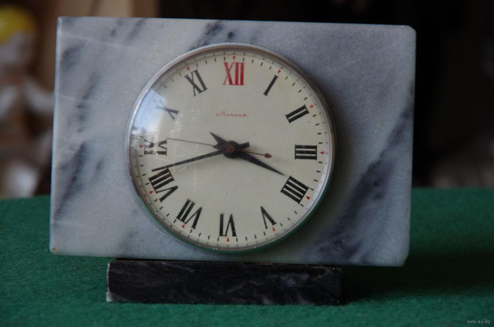 """Horloge de table """"Tank"""" de Molnija Molta810"""
