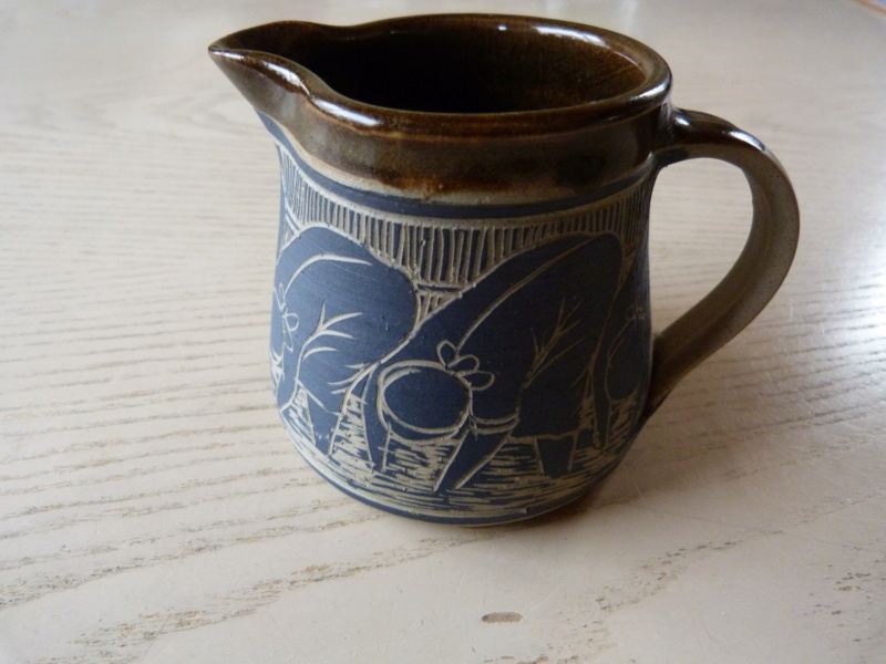 Austin Hleza, Swaziland Artist Potter. Cream Jug.  P1120718