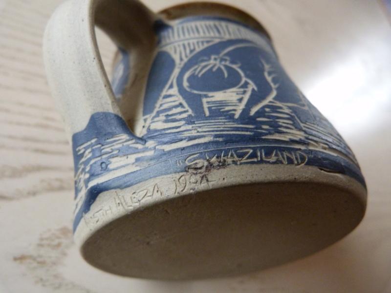 Austin Hleza, Swaziland Artist Potter. Cream Jug.  P1120719