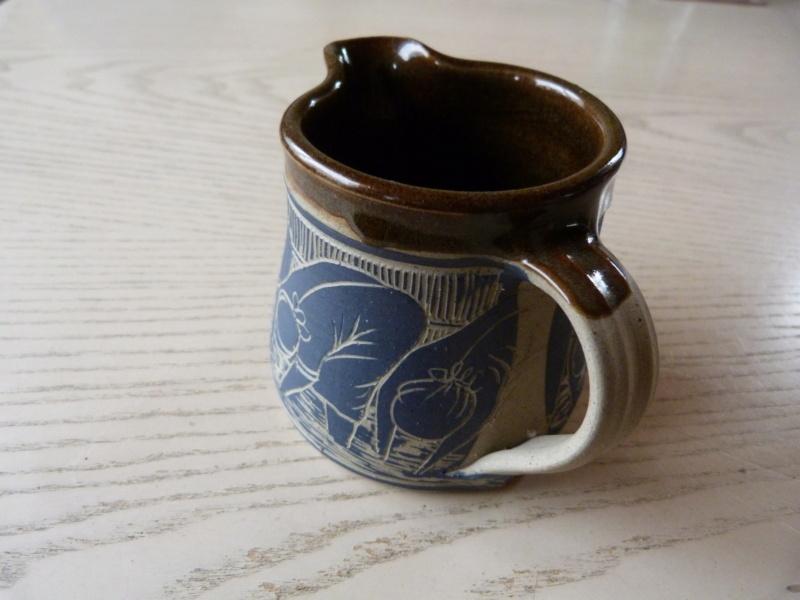 Austin Hleza, Swaziland Artist Potter. Cream Jug.  P1120722